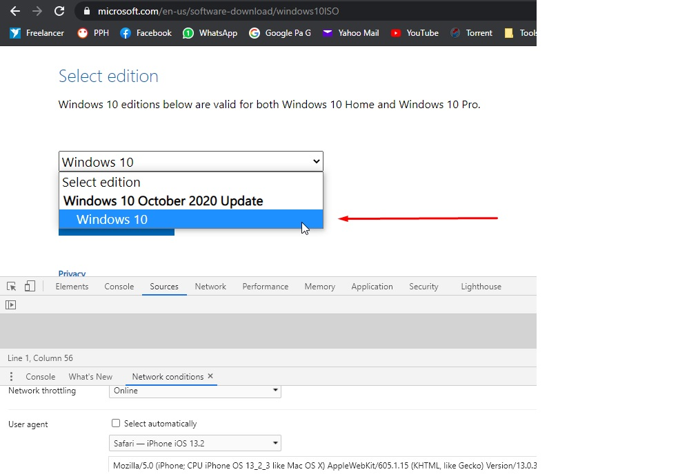 Select the edition and click Confirm button to free download Windows 10 ISO